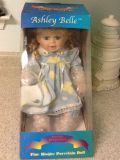 Ashley Belle Porcelain Keepsake Doll . Only taken out to take pics. See additional pics.
