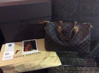 Louis Vuitton (Speedy 35) Monogram Handbag