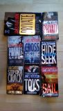 8 AWESOME JAMES PATTERSON BOOKS, SOLD AS LOT, PRICE IS FOR ALL