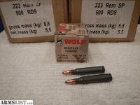 For Sale: Wolf 223 Rem SP