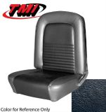 Purchase 1967 Ford MUSTANG - FASTBACK Full Seat Upholstery - Standard - BLACK Buckets motorcycle in Vista, California, United States, for US $239.95