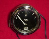 "Find STEWART WARNER 2-1/8"" FUEL LEVEL GAUGE CURVED GLASS RAT STREET ROD 6 V BIG LOGO motorcycle in Fort Wayne, Indiana, United States, for US $159.95"