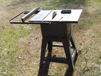 """Toolcraft 10"""" Table Saw"""