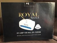 Royal Nail Dryer UV Lamp For Nail Gel Curing