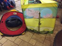 Play huts for kids.