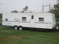 33 FT BEL AIR BUNKHOUSE TRAVEL TRAILER