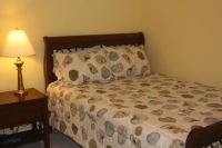 Queen Size Bed with mattress and matching night stand