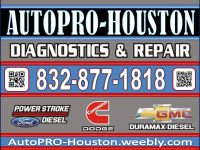 Brakes. Transmission. Engine Repairs. AutoPRO-Houston 9103 Emmott Rd. Harris County