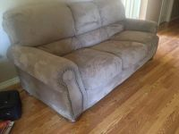 Couch and 2 matching recliners