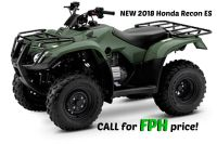 2018 Honda FourTrax Recon ES Utility ATVs Erie, PA