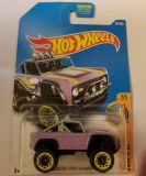 2017 HOT WHEELS CUSTOM FORD BRONCO NO PAINT ON THE SIDE ERROR!