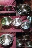 3 Pc Heavy Duty Stainless Steel Strainers