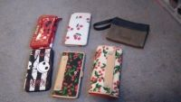 Lots of cute wallets all in excellent condition