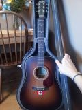 Simon  Patrick Luthier Guitar and hard case