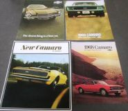 Purchase 1967 68 69 71 Chevrolet Camaro Dealer Sales Brochure Set RS SS Z28 Convertible motorcycle in Holts Summit, Missouri, United States, for US $55.71