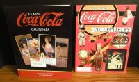 Lot of 2 books Coca Cola Collectibles Goldstein Classic Calendars Petretti Beyer