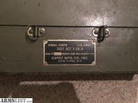 For Sale: Signal Corps Test Box I-56-D