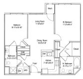 $5010 2 apartment in Morristown