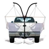 Hammock stand for trailer hitch