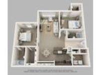 Crown Ridge Apartments - Two BR & Den
