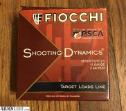 "For Sale: Fiocchi Shooting Dynamics Target Line 12 Gauge Ammunition 25 Rounds 2-3/4"" #8"