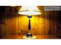 Vintage Best and Lloyd Cobalt Lamp - Price: $,