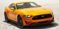 2018 Ford Mustang EcoBoost Fastback (Ruby Red Metallic Tinted Clearcoat)