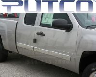 Purchase PUTCO 403689 2007-2011 Chevy Silverado Ext Cab Bright Body Side Molding motorcycle in Story City, Iowa, US, for US $199.99