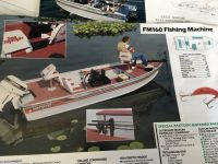 1989 16' SEA NYMPH FISHING MACHINE BOAT WITH TRAILER