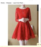 ISO RED dress