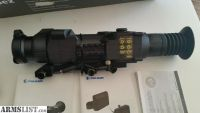 For Sale: Pulsar Apex XD50A thermal day or night vision rifle scope, inc external battery