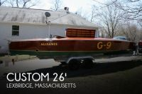 1989 Custom Built 26 Gold Cup Race Boat