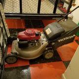 Honda self propelled mulching mower