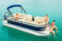 2018 Crest II 250 SLC Pontoons Boats Edgerton, WI