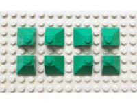 NEW LEGO PARTS 2x2 Green Roof Tile 45 deg Corner Slope