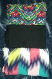 $55 Firm New condition lot Lularoe Tc2 leggings Solid Black & fun colors each pair was only used once selling as lot only