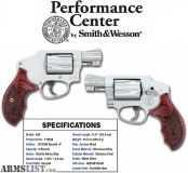 For Sale: SMITH & WESSON MODEL PC 642