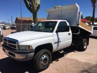 2001 Dodge Ram BR3500 2001 Ram 1 ton Dump Truck