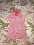 Women s active top with padded top and roushing size medium excellent condition