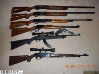 For Sale/Trade: SHOTGUNS_RIFLES_PISTOLS
