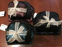 $2.75 Gorgeous 3 Pc Cosmetic Case/Purse Set Three Colors to Choose From [MSRP $4.99]