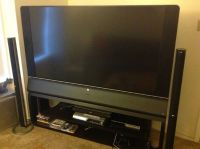 HP Pavilion 65 inch DLP High Def 1080p Television with TV Stand