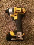 DeWalt impact driver and drill with battery