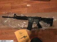 For Sale: Top line chrome Armalite def15f factory new AR15 556/.223 1/7 twist