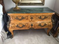 GreAt antique marble top table can be used as bedside or foyer or dining room. Very versatile just moving and have no room for it