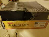 OfficeMax Slim jewel cases for dvds /cds (98 total)