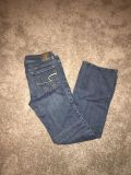Women s American eagle jeans size 8 bootcut great condition