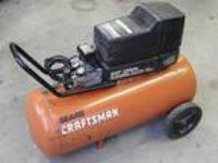 Craftsman Air Compressor 125 PSI 120-240 V 4HP 25 Gal