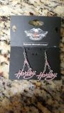 Harley Davidson Earrings & Necklace
