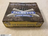 For Sale: Palmetto State Armory Classic Lower Parts Kit, Black, #6983
